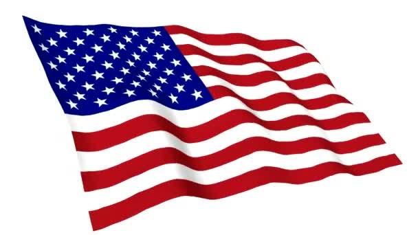 Animated flag of USA