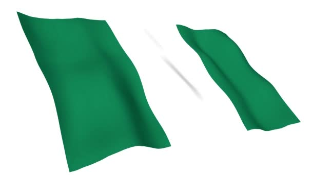 Animated flag of Nigeria