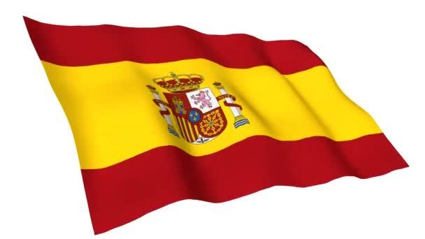 Animated flag of Spain