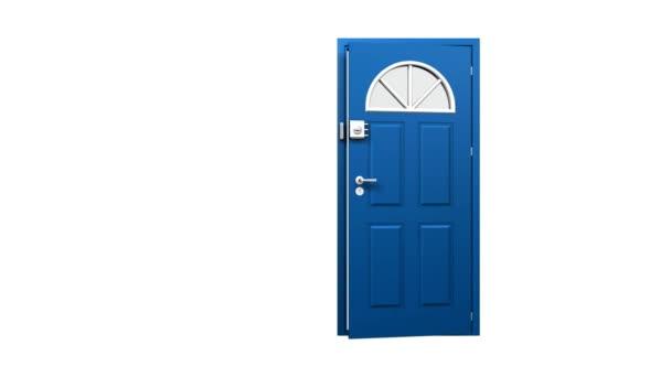 otevírání dveří