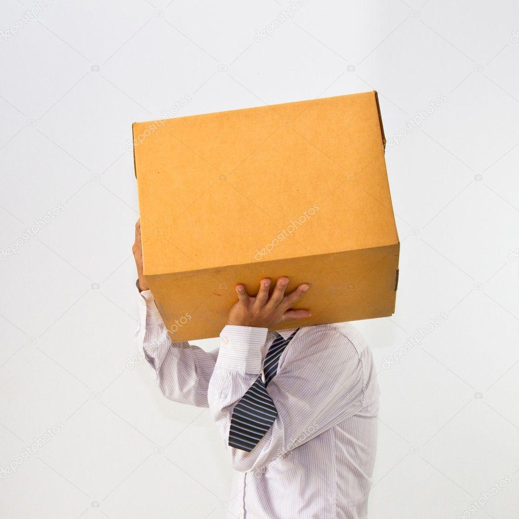 несет коробку картинка чтобы набить