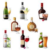 Fotografie Alkoholických nápojů a koktejlů