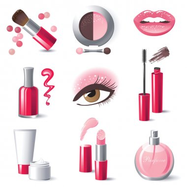 make-up icons