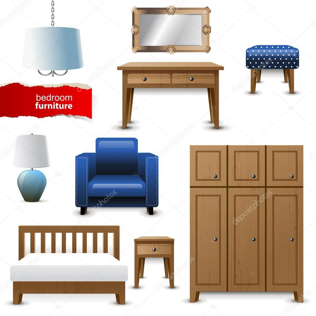 muebles recamara vector de stock mart m 60033157