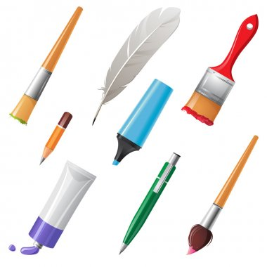 Writing and painting tools