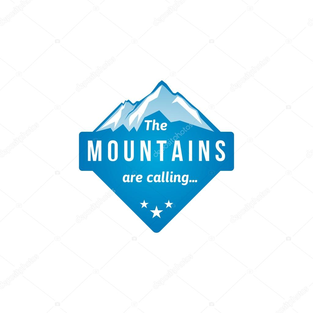 Mountain label