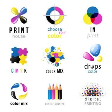 CMYK logo templates