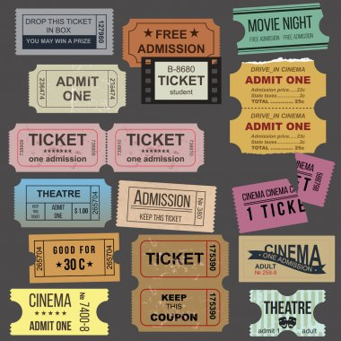 Great tickets collection