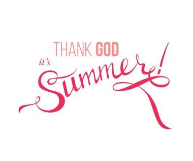summer design poster