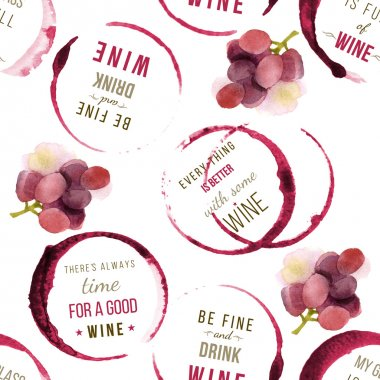 wine type designs seamless