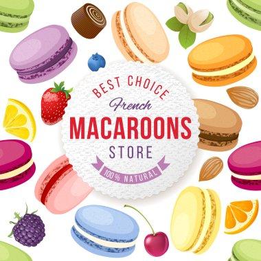 Macaroons store emblem