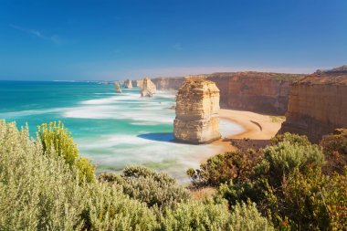 Twelve Apostles in Australia, long exposure