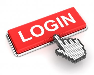 Clicking a login button