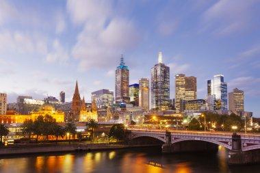 View of modern buildings in Melbourne, Australia