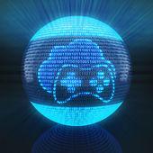 Felhő gaming ikon