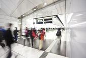 Dojíždějících v metru