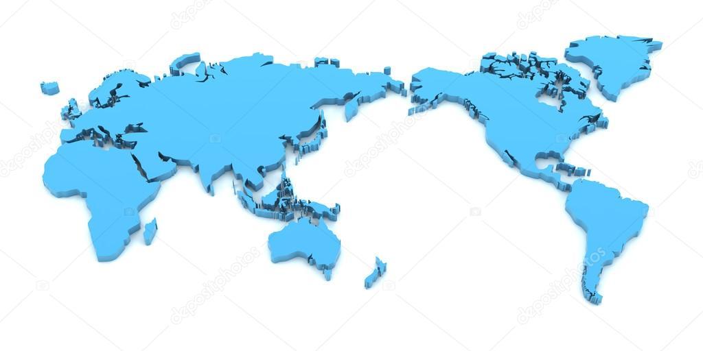 Mapa detalle de mundo render 3d fotos de stock ymgerman 89737334 mapa detalle de mundo render 3d fotos de stock gumiabroncs Gallery