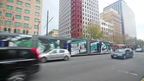 Video z King William Street v Adelaide, Jižní Austrálie