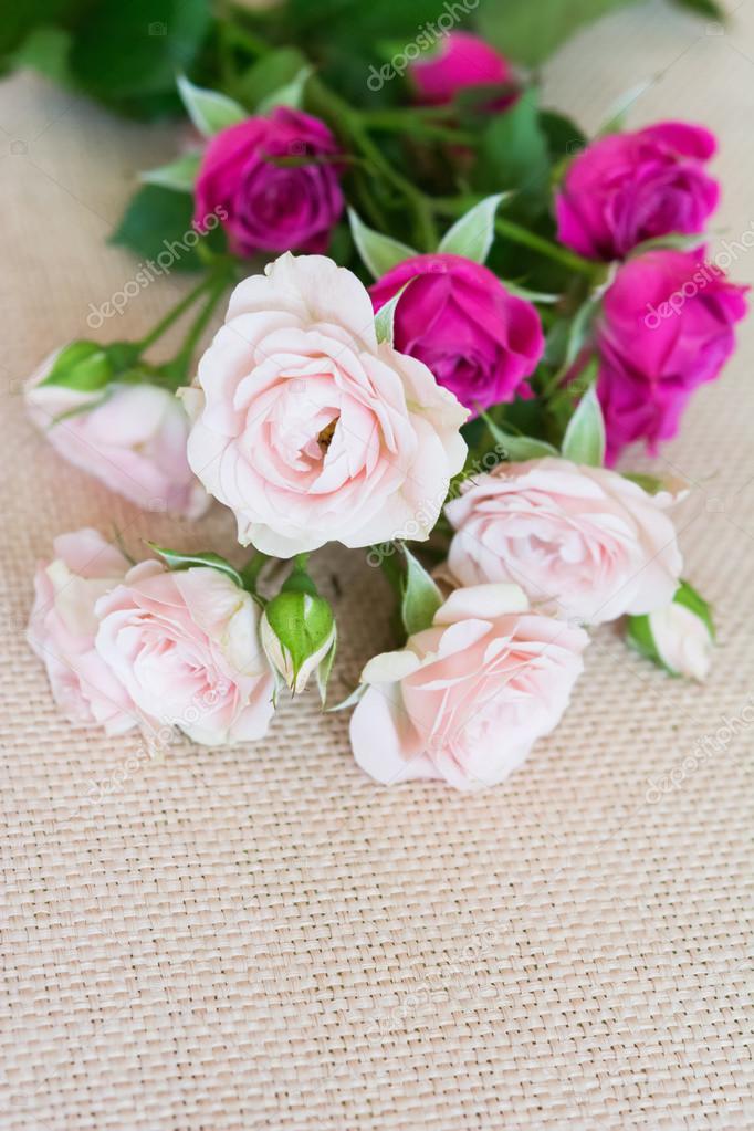 фото открытка с цветами
