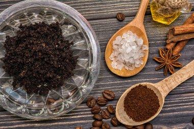 Coffee scrub bodycare