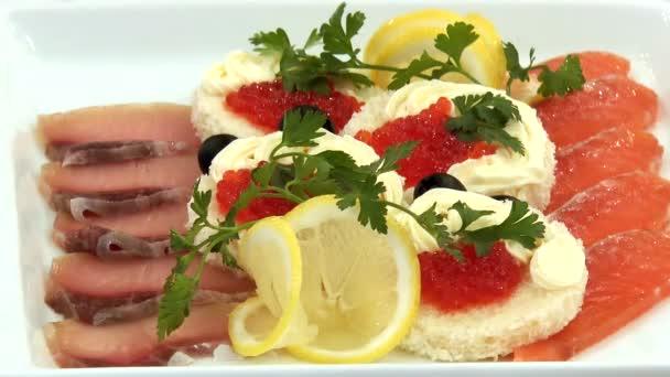 Rybí speciality na talíři