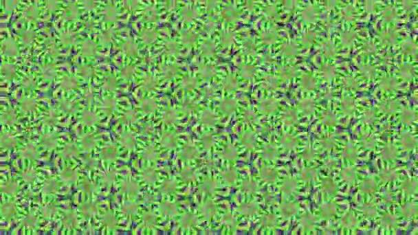 Zöld lila absztrakt háttér, hurok