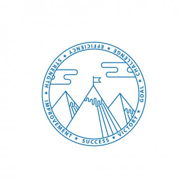 Blue montains logo