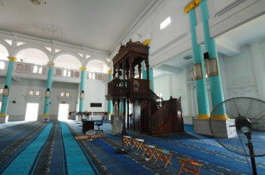Interior of Sultan Ismail Mosque in Muar