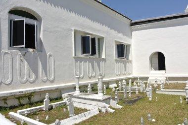 Old grave yard at The Abidin Mosque in Kuala Terengganu, Malaysia