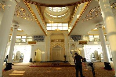Interior of Crystal Mosque in Terengganu, Malaysia