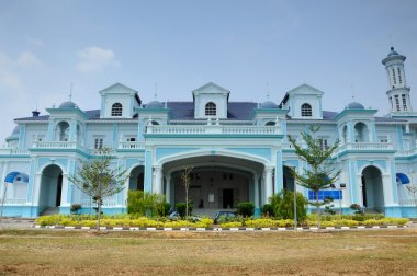 Sultan Ismail Mosque also known as Muar 2nd Jamek Mosque