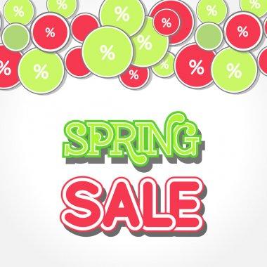 Spring Sale Design Illustration