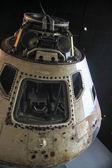 Fotografia Bianco capsula di rientro veicolo spazio sul nero