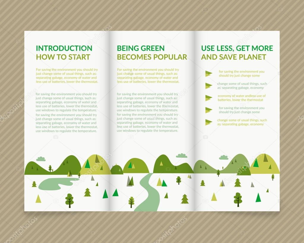 Ecological brochure