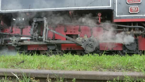 Pohybu přenos snímku parní vlak