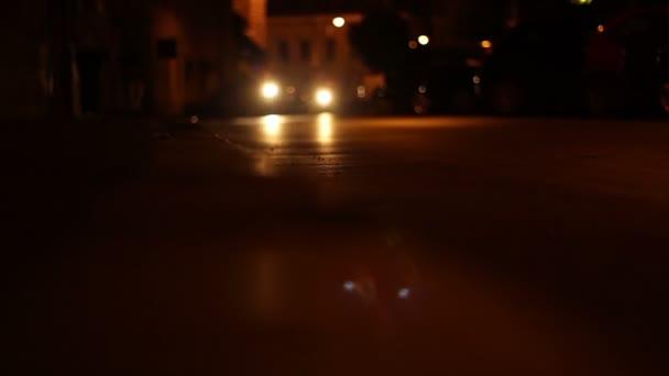 Night Riders on Streets