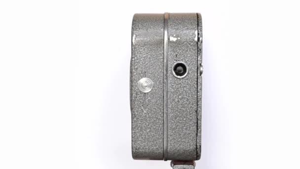 Régi kézzel tartott tekercs Film fényképezőgép 7