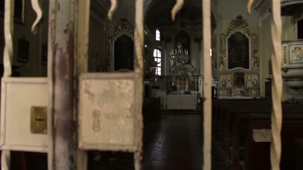 Zárt templom fókusz megváltoztatása