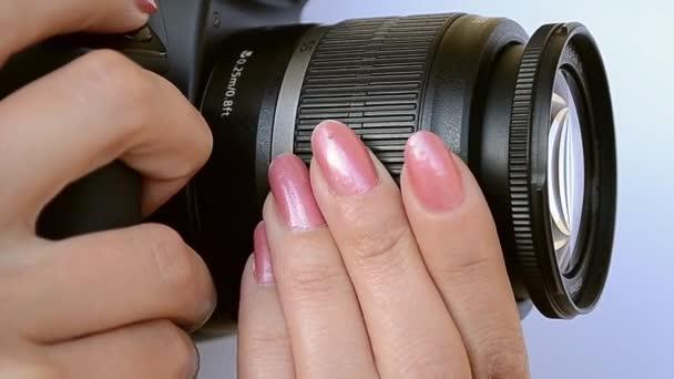 Fotograf Zoom a ostření upravit