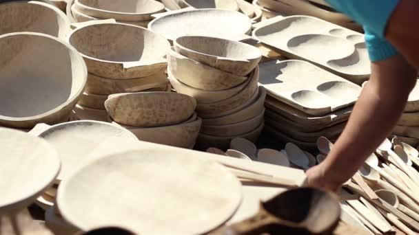 Dřevěné nádoby