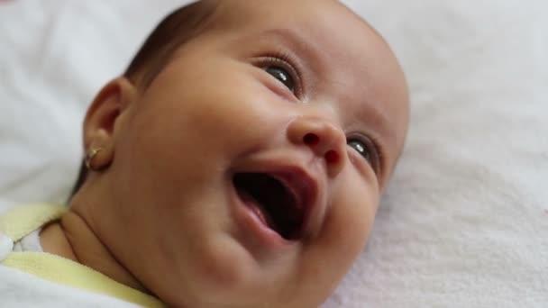 Dětská dívku smích