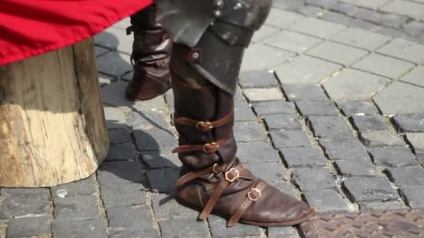 Medieval Military Boots