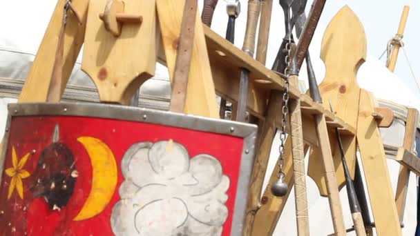 Middle Ages Weapons Stand