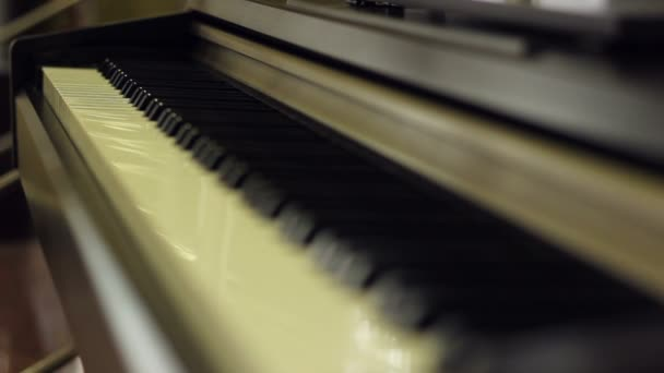 Zongora billentyűs hangszerek fókusz műszak