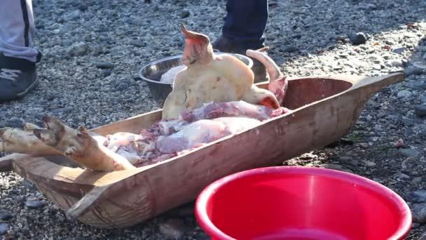 Syrové sekané vepřové maso