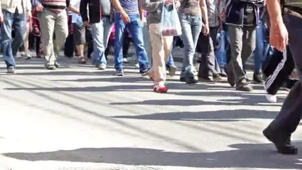 Menschen Beine und Füße