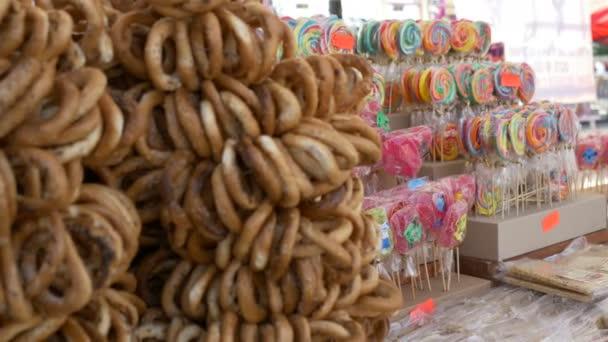 Lollipops and Pretzels at Fair