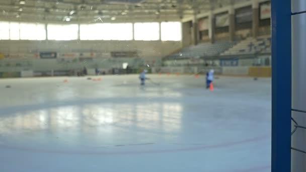 Hokejový trénink den
