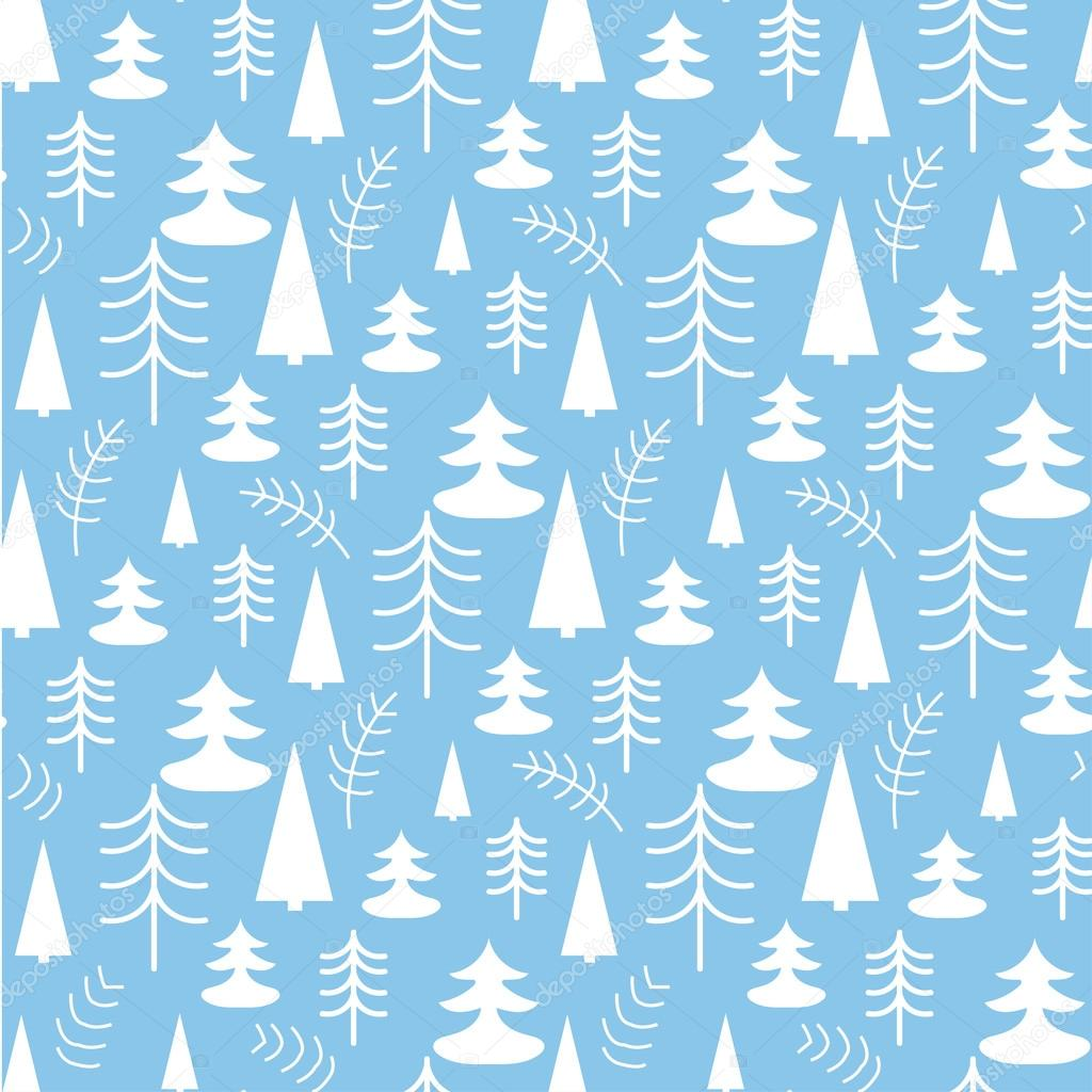 Seamless christmas pattern with trees ideal for wrapping paper seamless christmas pattern with trees ideal for wrapping paper invitation card or other print stopboris Gallery