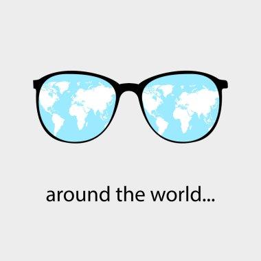 around the world glasses